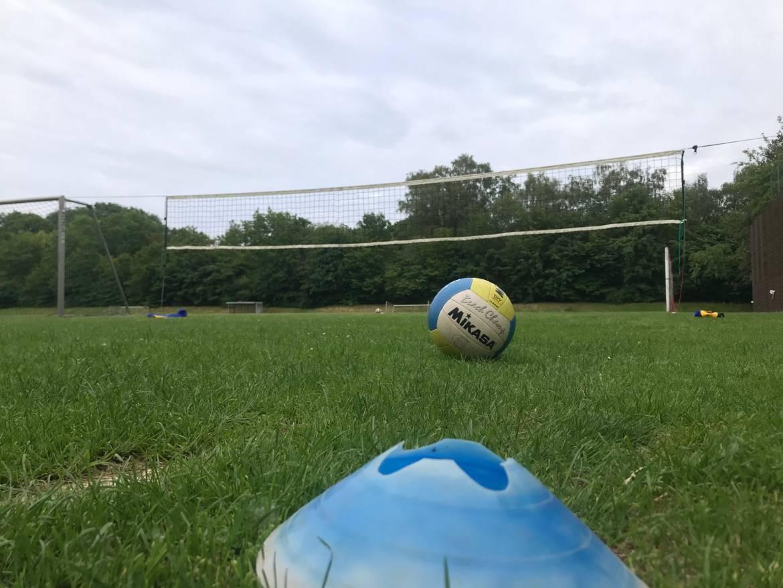 Freiluft Volleyball