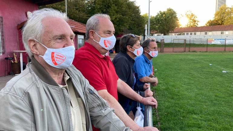 Mund-Nasen-Schutz mit DJK Vereinslogo