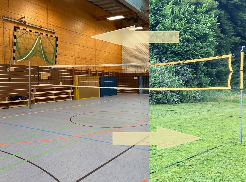 Volleyball Hybrid-Modus