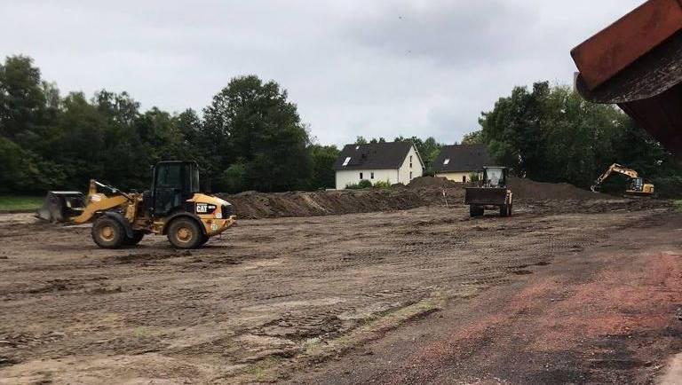 Bauarbeiten gehen mit großen Schritten voran